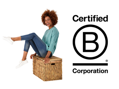GOOD NEWS ALERT! WE ARE NOW A CERTIFIED B-CORPORATION!