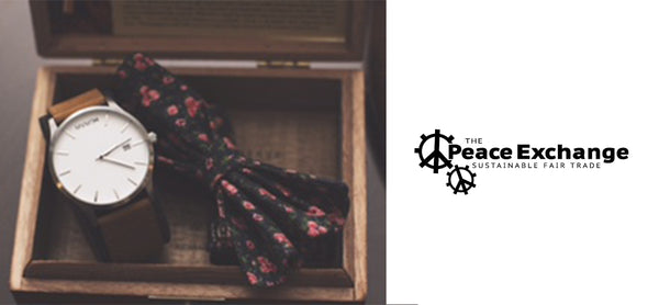 Peace Exchange Bow Tie