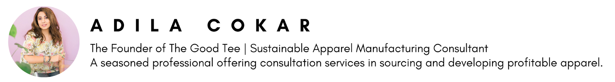 Sustainable Fashion Consultant