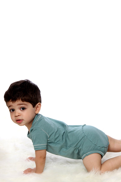 Baby Short Sleeve Diaper Shirt