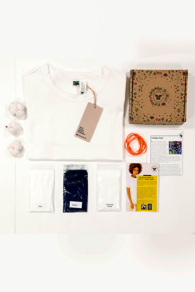 indigo dye kit project- diy tshirt