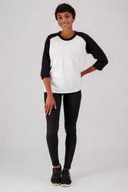 organic cotton raglan wholesale Tee