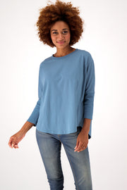 Womens Relaxed Fit Batwing Tee