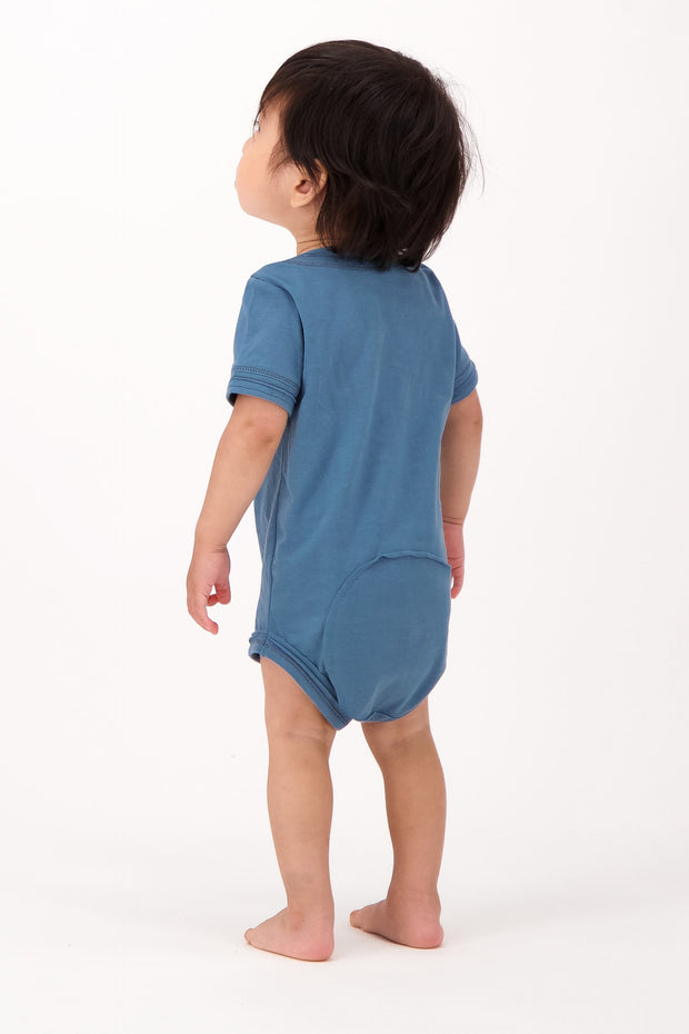 Baby Short Sleeve Diaper Shirt - The Good Tee