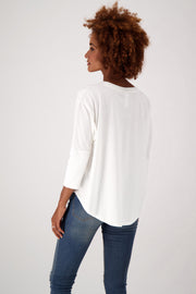 The Favorite Relaxed Fit Eco-Batwing Tee  - The Good Tee