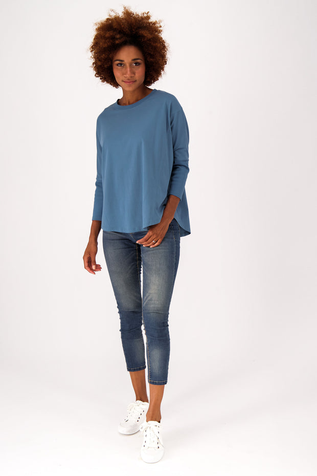Womens Relaxed Fit Batwing Tee  - The Good Tee