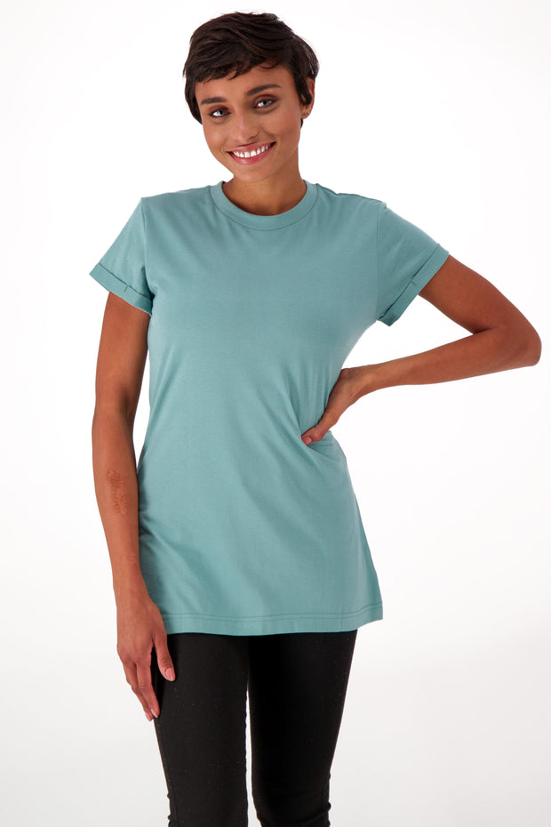 Women's Slim Fit Short Sleeve Crewneck
