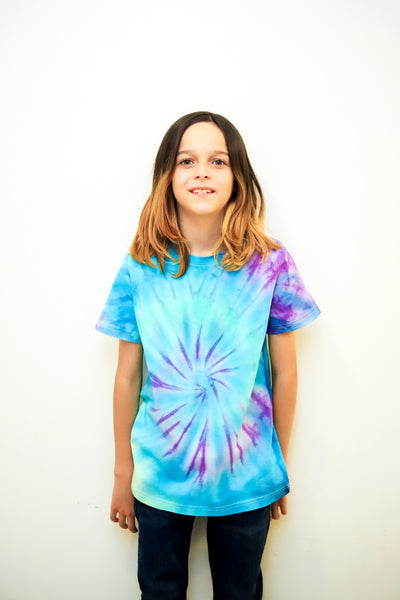 Galaxy Tie- Dye Commissioned  Tshirt By Dee Silkie - The Good Tee