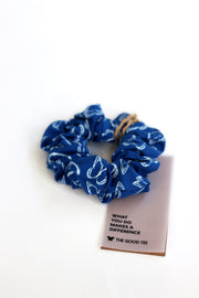 organic cotton scrunchie