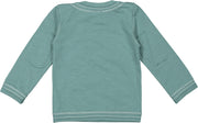 long sleeve baby shirt green