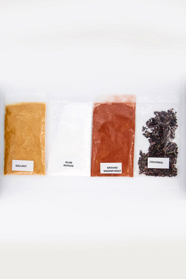 natural dye ingredients for diy tshirt