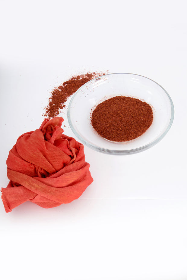 ground madder root for natural dye kit