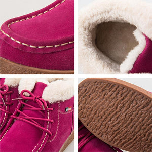Women Daily Suede Platform Outdoor Snow Boots