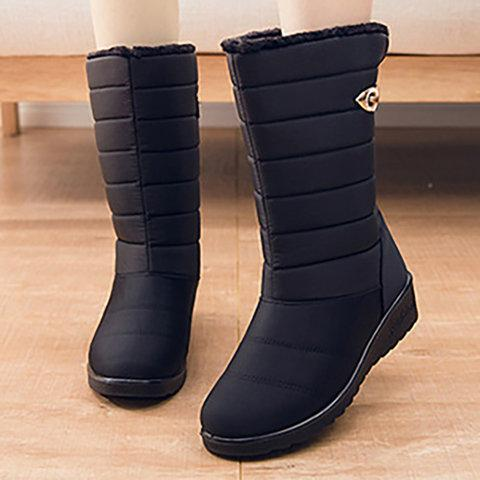 Winter Waterproof Non Slip Breathable Snow Boots - Manychic