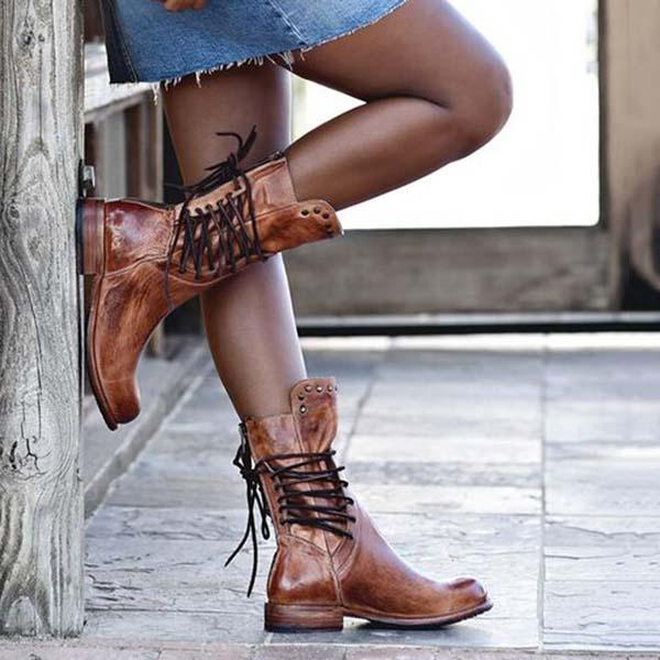 Vintage Boots Mid-calf Boots