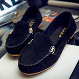 Women Flat Portable Soft Loafers Flats