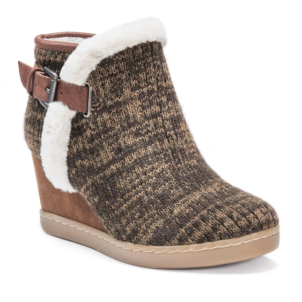 Women's Casual Wedge Boots