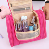 Waterproof Hanging Toiletry Bags Large Organizer Travel Folding Cosmetic Kit? - Manychic