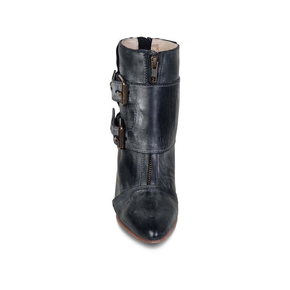 Fashion Vintage Women Leather Boots