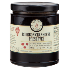 Bourbon Cranberry Preserves
