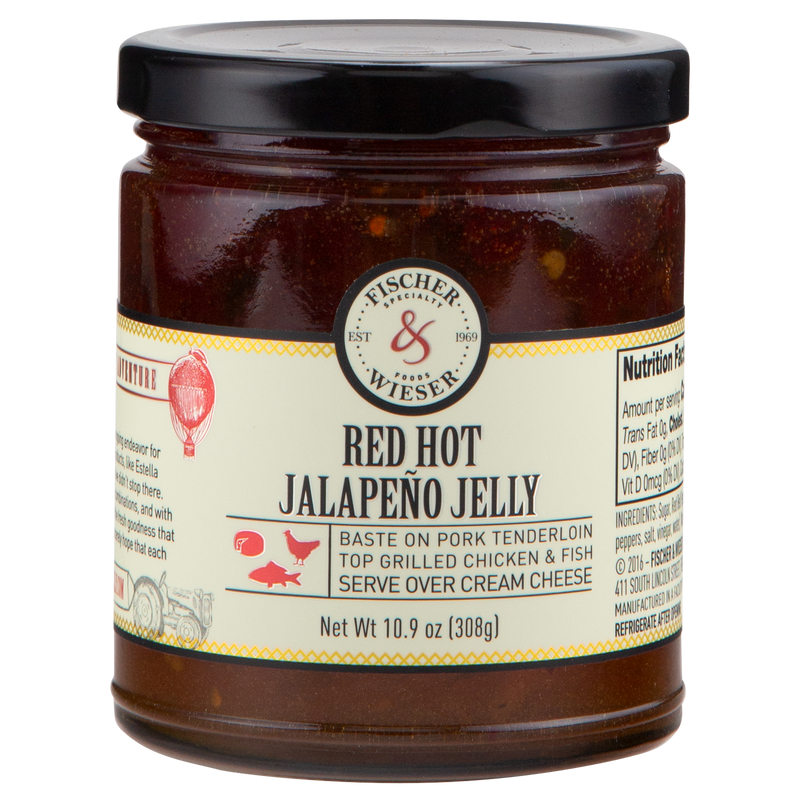 Red Hot Jalapeño Jelly