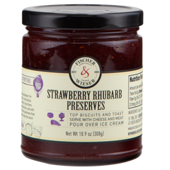 Strawberry Rhubarb Preserves