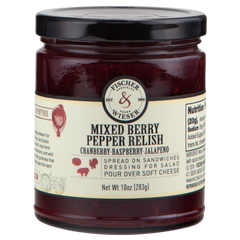 Mixed Berry Pepper Relish