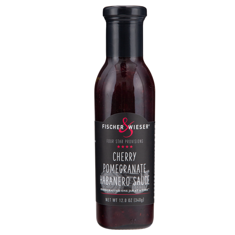 Four Star Cherry Pomegranate Habanero Sauce 12oz