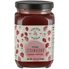 F&W Texas Strawberry Dessert Topping 12.5oz