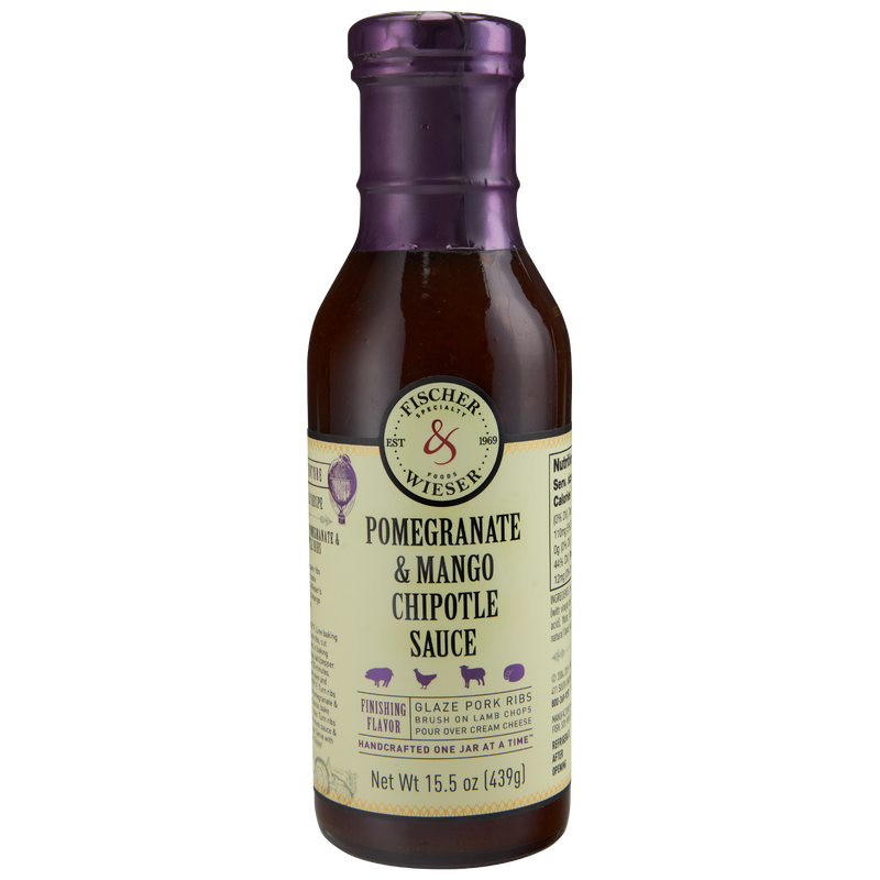 F&W Pomegranate & Mango Chipotle Sauce 15.5oz