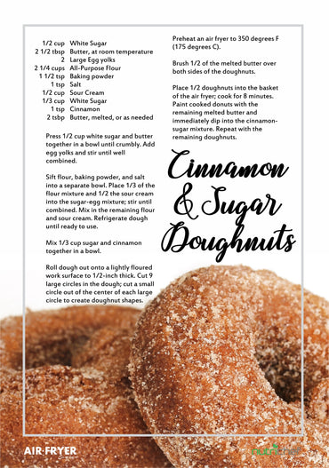 Cinnamon and Sugar Doughnuts