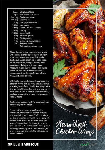 Asian Twist Chicken Wings