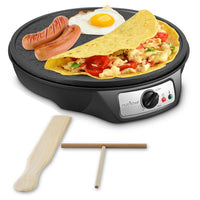 Electric Griddle & Crepe Maker PCRM12