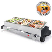 Electric Hot Plate Food Warmer PKBFWM24