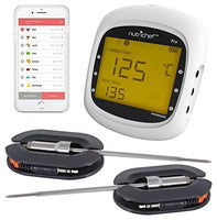 Smart Bluetooth BBQ Grill Thermometer PWIRBBQ80
