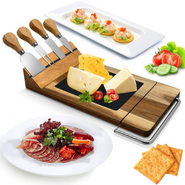 Cheese Board Serving & Cutting Set PKCZBD50