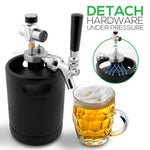 Pressurized Beer Mini Keg Growler PKBRTP60