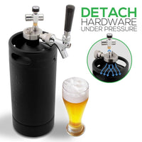 Homebrew Mini Keg Beer Dispenser PKBRTP110