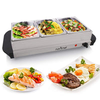 NutriChef Buffet Server and Food Warmer