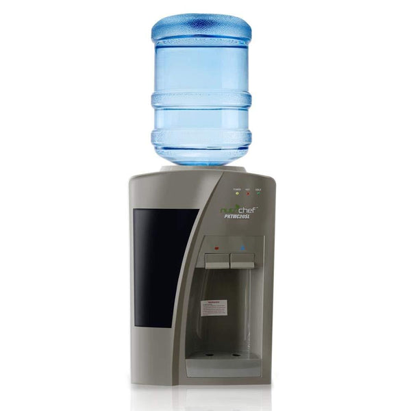 NutriChef Countertop Water Dispenser Hot & Cold PKTW20SL-Fridges, Coolers & Ice Makers-NutriChef Kitchen