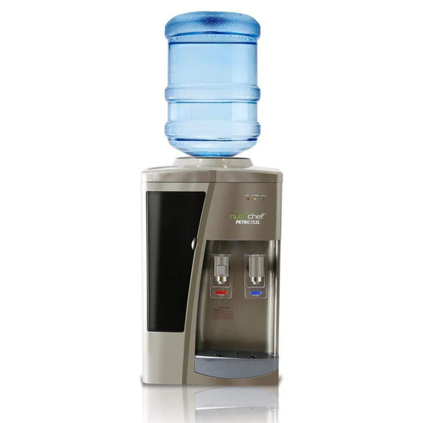 NutriChef Countertop Water Dispenser Hot & Cold PKTWC15SL-Fridges, Coolers & Ice Makers-NutriChef Kitchen