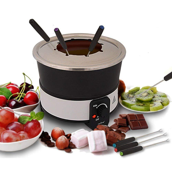 NutriChef Electric Chocolate Fondue Maker Set 2.1 Quart PKFNMK26-Candy & Snacks-NutriChef Kitchen