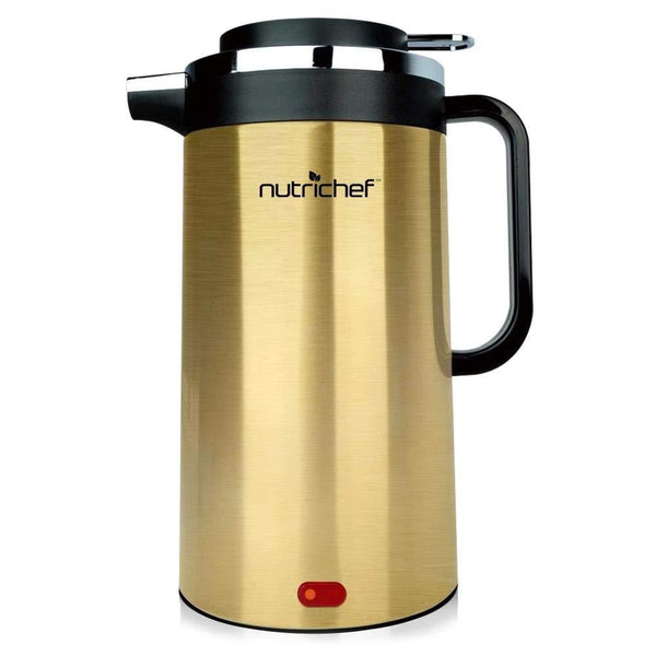 NutriChef Electric Kettle 1.7L PKWK23GD-Water & Tea Kettles-NutriChef Kitchen