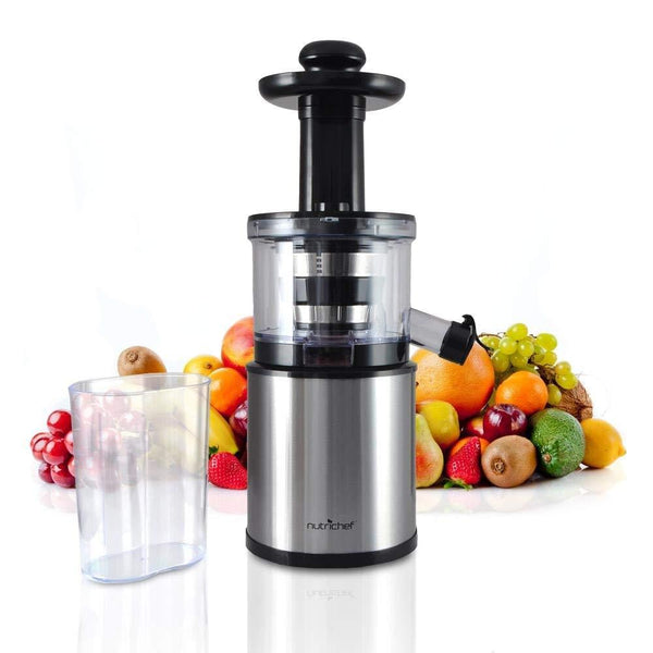 NutriChef Electric Masticating Slow Juice Maker & Extractor Machine PKSJ30-Juicers-NutriChef Kitchen