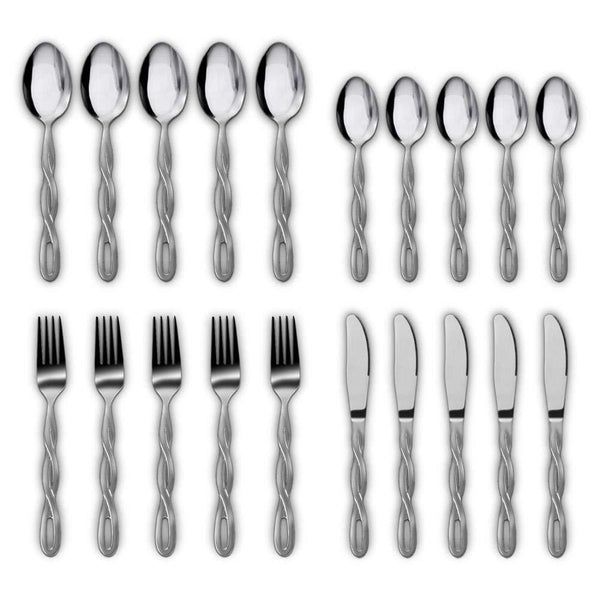 NutriChef Flatware Set PKSTSF10-Kitchen Tools & Utensils-NutriChef Kitchen