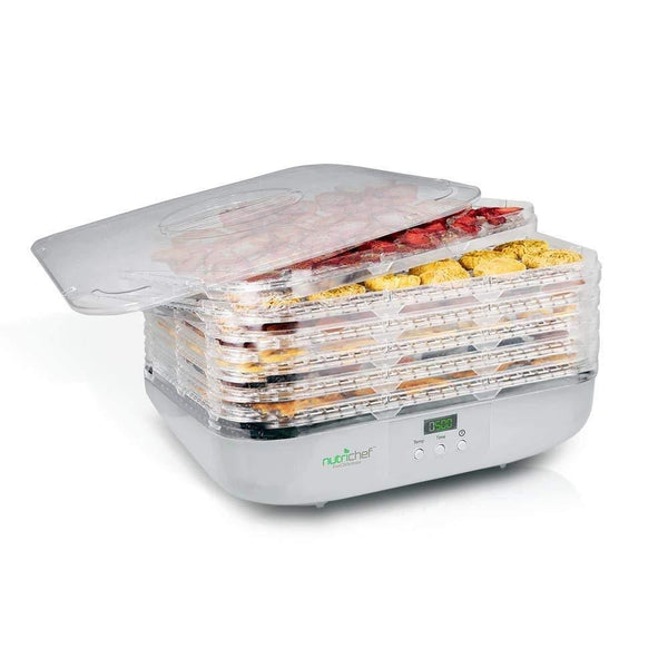 NutriChef Food Dehydrator PKFD16-Dehydrators & Steamers-NutriChef Kitchen