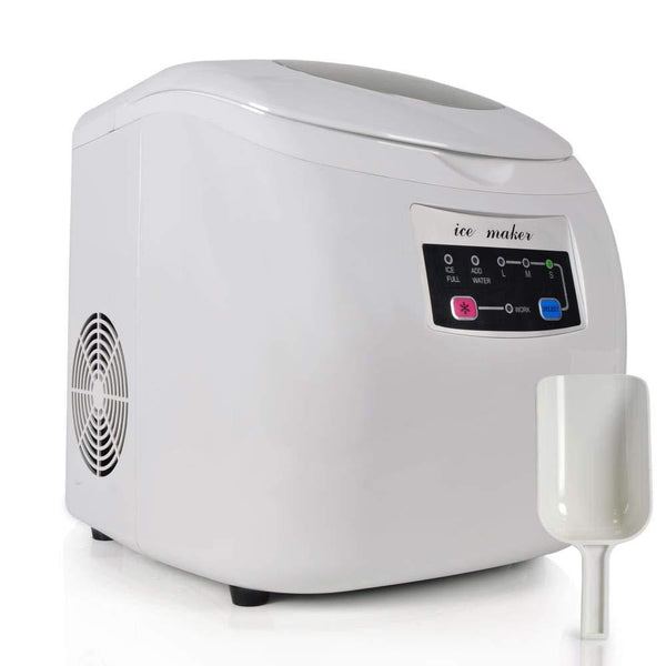NutriChef Ice Maker Machine PICEM20-Fridges, Coolers & Ice Makers-NutriChef Kitchen