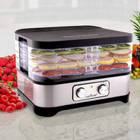 NutriChef Multi-Tier Food Dehydrator Machine PKFD30