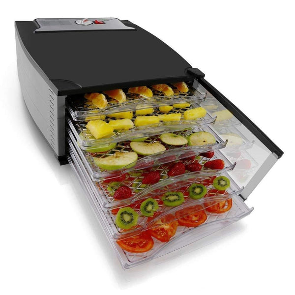 NutriChef Multi-Tier Food Dehydrator Machine PKFD52-Dehydrators & Steamers-NutriChef Kitchen