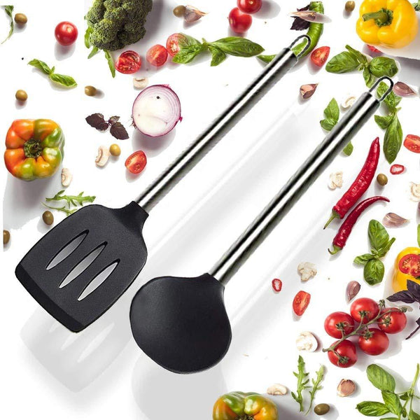 NutriChef Nonstick Spatula Set PKSPT15-Kitchen Tools & Utensils-NutriChef Kitchen